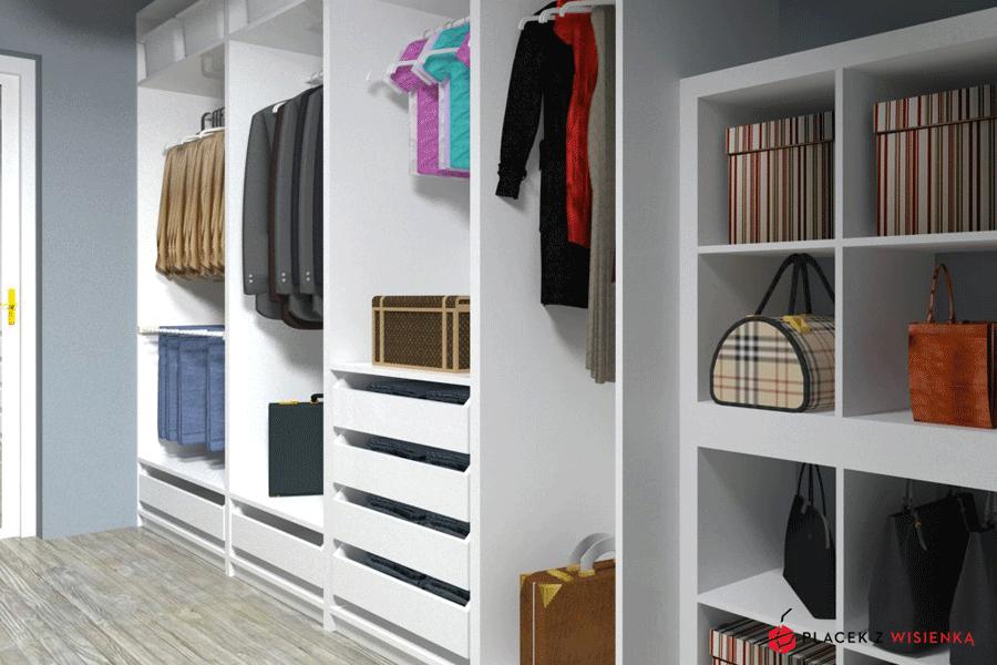 Projekt Garderoby System Pax Placek Z Wisienką